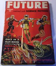 Future Combined with Science Fiction – US pulp – Aug. 1942 - Vol.2 No.6 - Blish