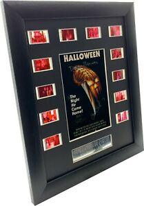 Cast signed Halloween Movie Filmcell (1978) Original 35mm cells.