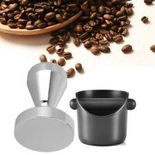 Espresso Machine Coffee Making Tool Kit Non Slip Deep-bent Knock Box 51mm Set