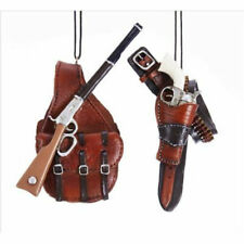 Western Holster & Gun Ornament