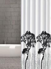 Cortina de ducha tela árboles Árbol diseño 240x200 CM 240 ancho x 200cm alto