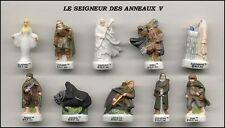THE LORD OF THE RINGS PART 5 French Set 10 PORCELAIN Figures RARE Original LOTR