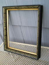 Antique Aesthetic Eastlake Victorian Marbled~Gilt Lined Picture Frame 11 5/8~14