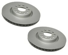 Pair Set of 2 Front ATE Brake Disc Rotors 312 for Audi A3 Q3 TT Q VW Golf Jetta
