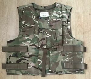 NEW British Army Military SAS SBS MTP Body Armour ECBA Cover / Vest - 190/108