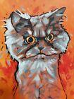 Original Cat Painting (6×8 inches)
