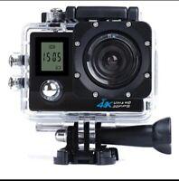 4K WiFi Sports Camera 1080P 2.0 LCD HD 30m Waterproof DV Video Sport Extreme Go