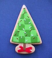 Hallmark MAGNET Christmas Vintage TREE Sugar COOKIE Holiday Fridge