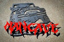 Jeep Man Cave Sign Plate Plasma Cut Metal Wall Art Hanging Home Decor TJ Garage