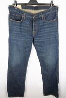 Hollister Men Jeans Blue Straight Fit size W36 L32