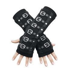 Mittens gloves buckles Poizen Industries Mitaines avec boucles Gothic Gothique