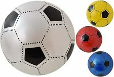 """BRAND NEW PLASTIC FOOTBALL SIZE approx 9"""" FLAT UN-INFLATED WITH NET Wholesale"""