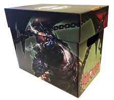 Spawn vs Violator Official Licensed Comic Book Storage Box Holds 100-125 Comics