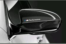 2 BMW M Performance Rückspiegel Aufkleber, Folie Scheibe Motorsport Logo Sticker