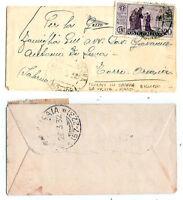 1931 - S,Antonio - cent 20 isolato (RARO) per Torre Orsaia nel 1932