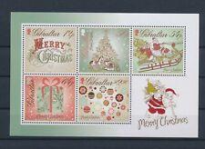 LL93517 Gibraltar christmas Santa good sheet MNH