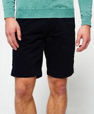** Superdry Mens International Chino Shorts in Leglon Blue Medium