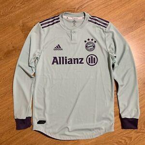 Bayern Munich 2018/2019 Player Issue Away Womens Football Shirt Size 5