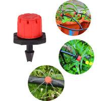 100X Verstellbar Garten Bewässerung Mistelzweig Mikro Durchfluss Tropfer Wasser