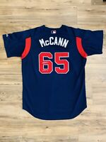 Brian McCann 1st EVER Game Used Worn 2005 Atlanta Braves Jersey Signed Autograph