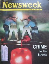 SUPERIOR SHIPPING  Newsweek Magazine August 16 1965 Crime In The Streets