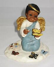 "Miss Martha Holcombe All God's Children #352 Charity 3 1/4"" Tall Butterflies"