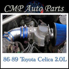 BLUE 1986-1989 TOYOTA CELICA 2.0 2.0L 4-CYL NON-TURBO AIR INTAKE SYSTEMS
