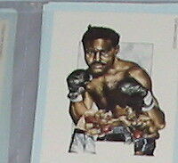 #8 Ezzard Charles-Boxeo tarjeta deportiva
