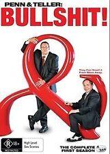 Penn & Teller - Bullshit! : REGION 1, Complete First Season  (DVD, 3-Disc Set)