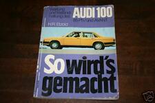 Reparaturanleitung Audi 100 Typ 43 mit 85 PS Motor