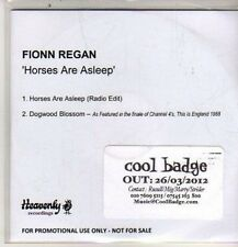 (DE32) Fionn Regan, Horses Are Asleep - 2012 DJ CD