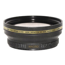 72mm 0.43x Wide Angle, Macro Lens for JVC GZ-HD7 HD3 HM1 MG555 GL-V0746U camcord