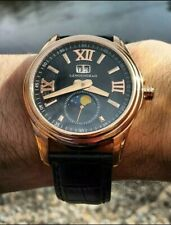 Rose Gold Sea-Gull Langengrad Automatic Moonphase Big Date ST-2528 (w/ BOX)