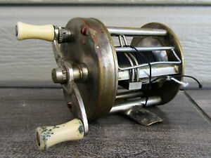 Vintage South Bend Bait Company No 450 Level Winding Anti Back Lask Casting Reel