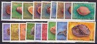 SAM38) Samoa 1978 - 1980 Shells MUH