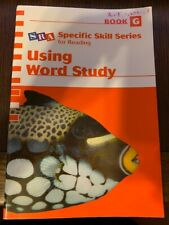 SRA Specific Skill Series for Reading, Using Word Study, Book H