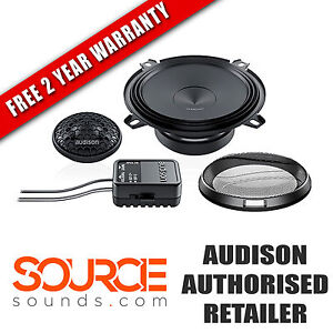 """Audison Prima APK130 5.25"""" Component Kit - FREE TWO YEAR WARRANTY"""