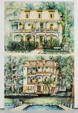 NY Chautauqua Inn Charming Atmosphere 16 N Terrace Postcard J16