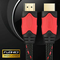 LOT 6FT 10FT 15FT 25FT HDMI 1.4 3D Cable HDTV High Speed+ Ethernet FREE SHIPPING
