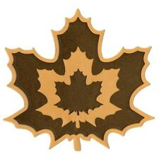 LIFESTYLE CRAFTS QUICKUTZ  NESTING MAPLE LEAVES DC0202