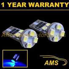 2X W5W T10 501 CANBUS ERROR FREE BLUE 8 LED SIDELIGHT SIDE LIGHT BULBS SL101604