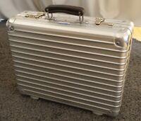 Rimowa Classic Flight Attaché NO TSA Aluminium Aktenkoffer Case RARE