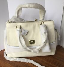 AUTHENTIC COACH, Large Harper Leather Triple Zip Satchel, NEW with TAGS (17-191)