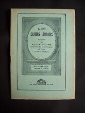 Les cahiers lorrains - N°9 1925