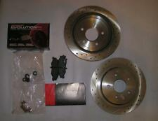 POWER STOP K1418 FRONT PADS AND SLOTTED ROTORS