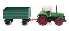 Wiking 096002 Gauge N Fendt Favorit with trailer