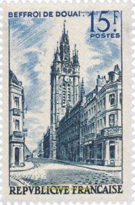 EBS France 1956 Tourism Douai Belfry - Beffroi de Douai YT 1051 MNH**