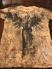 NWOT MEN'S Affliction Bamboo T-Shirt L