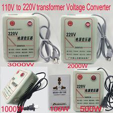 Voltage Converter Transformer 110V Step Up To 220V 100-3000W Output Voltage 220V