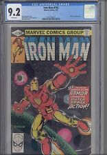 Iron Man #142  CGC 9.2 1983  Marvel Comic: NEW Stealth Armor KEY:  NEW Frame